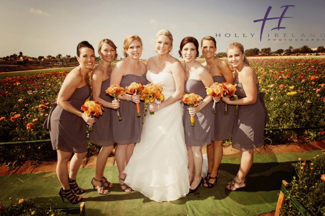 Carlsbad Ca Famous Flower Field Wedding Photos With Stacy