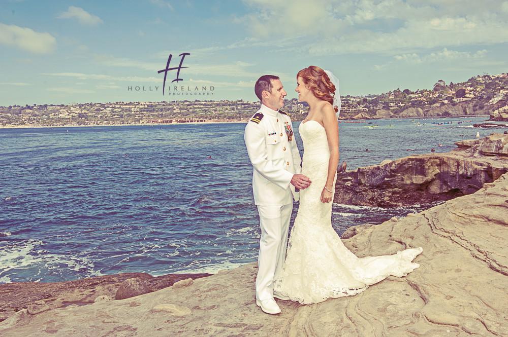 Diego Wedding Photos taken at La Jolla Cove Suites