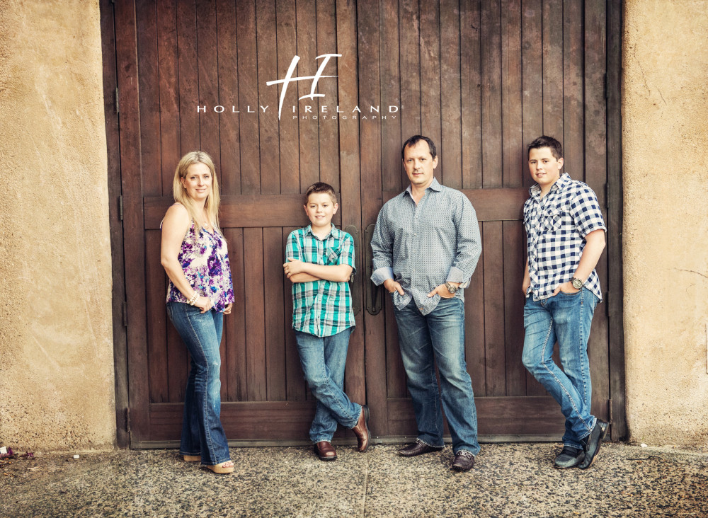 Rancho Santa Fe Family Photography at the Bridges in ...