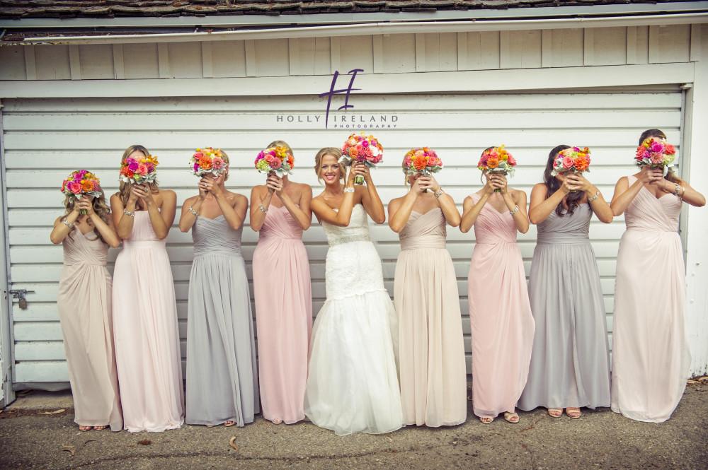 Santa Barbara Wedding Photographer Brides Maid Photo Ideas