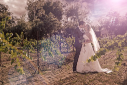 Rustic and chic Bernardo wedding From San Diego wedding photographers Holly Ireland Photography