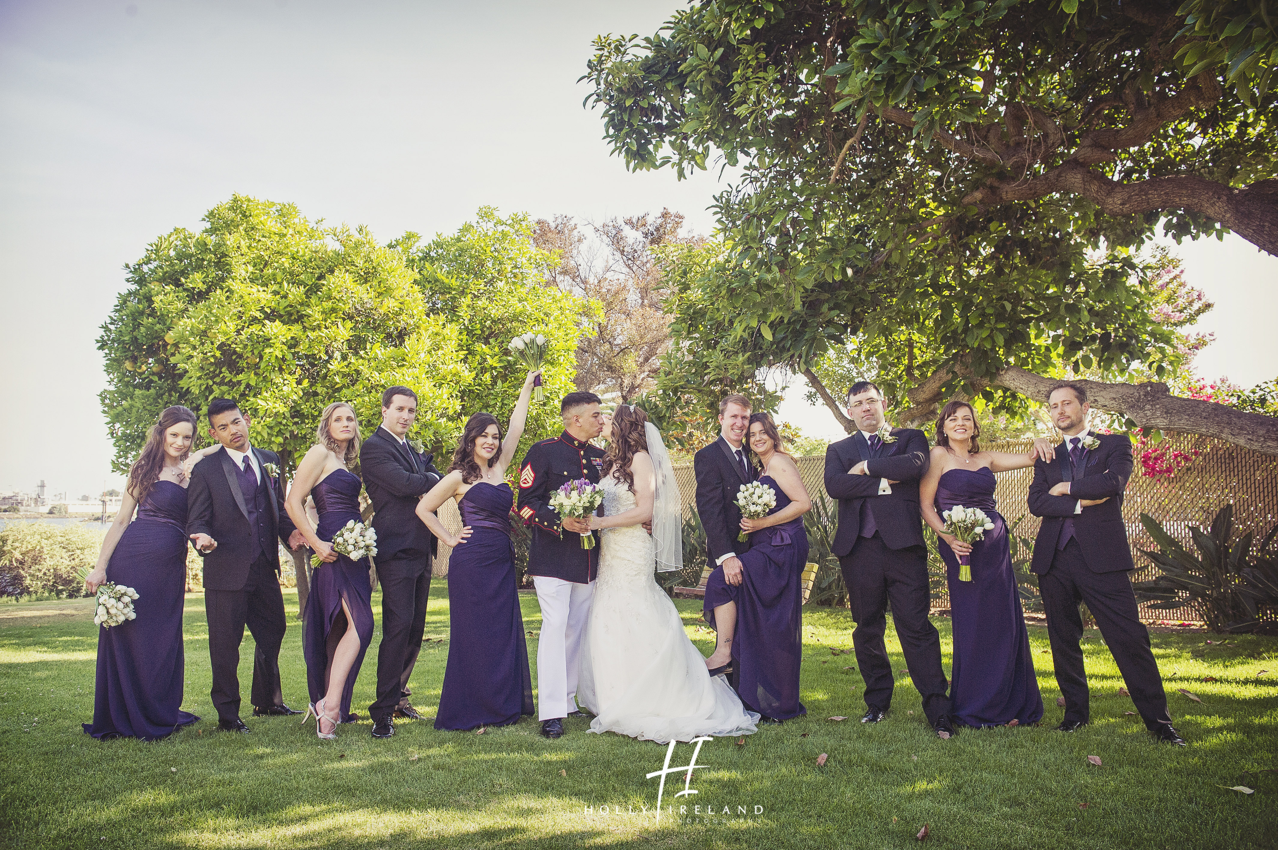 Military Wedding In San Diego At The Bayview Restaurant Mcrd