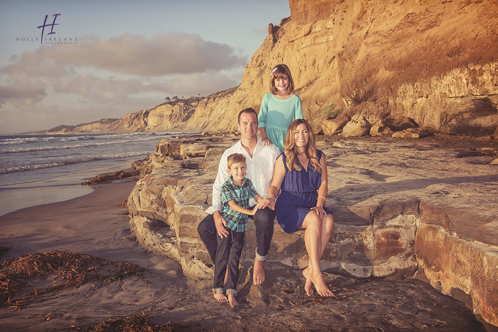 Lajollabeachsunset family photographer