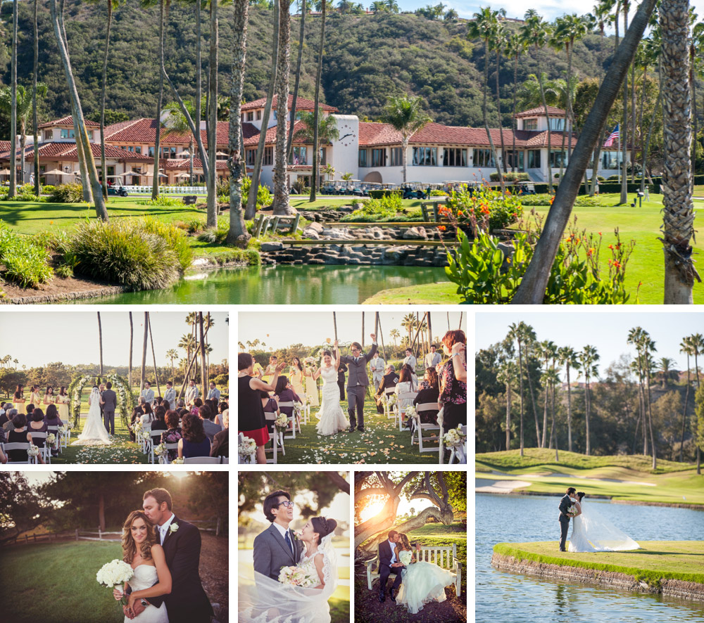 Fairbanks Ranch Country Club wedding photography