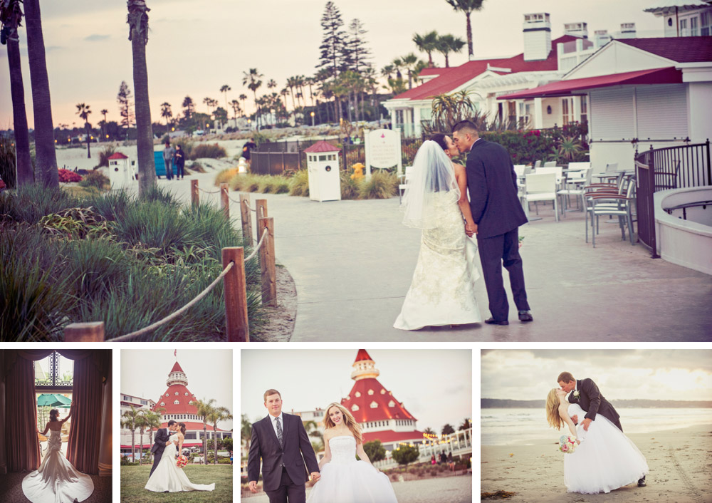 Hotel Del Coronado wedding photography