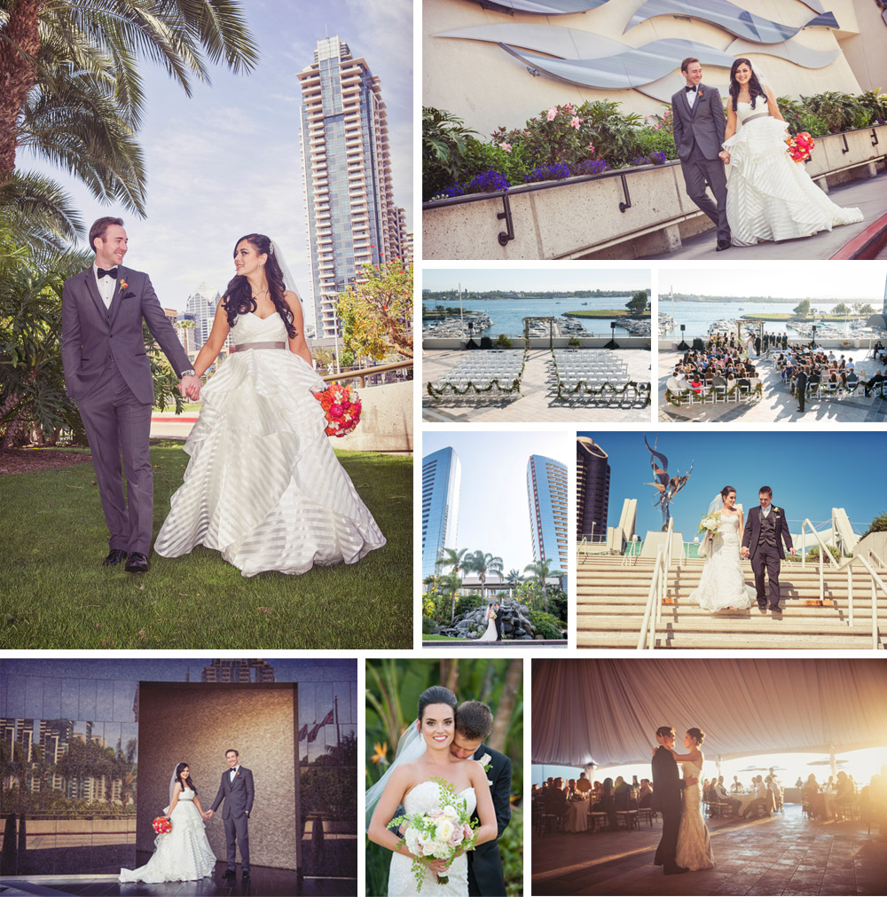 Our favorite san diego wedding venues san diego marriott marquis marina wedding photography junglespirit Image collections