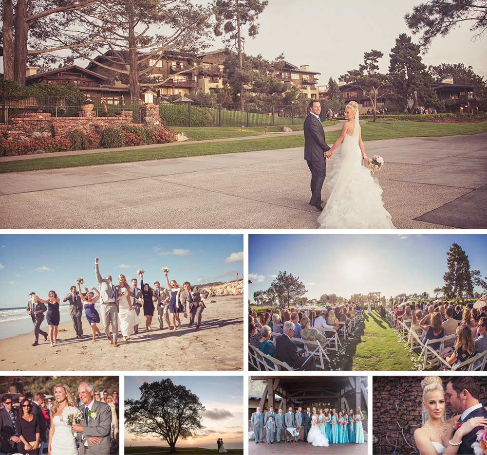The Lodge at Torrey Pines wedding photography