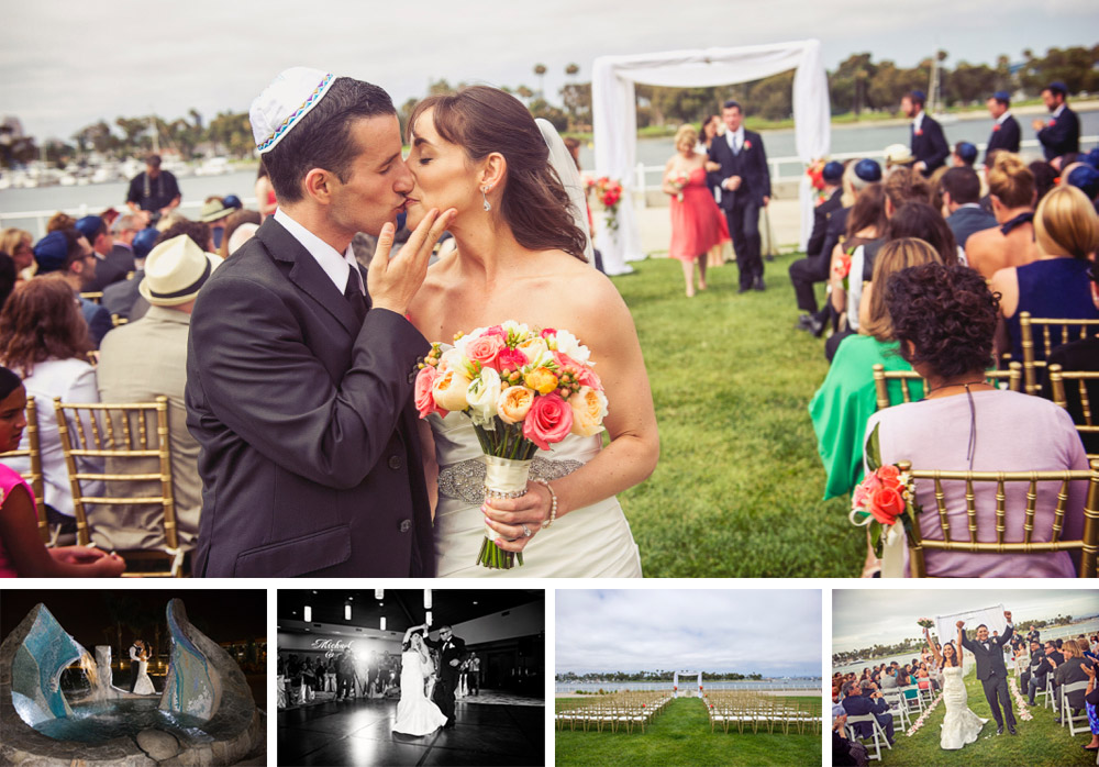Coronado Coummunity Center wedding photography