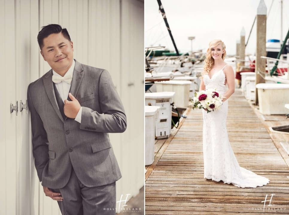 Camp Pendleton Beach Wedding