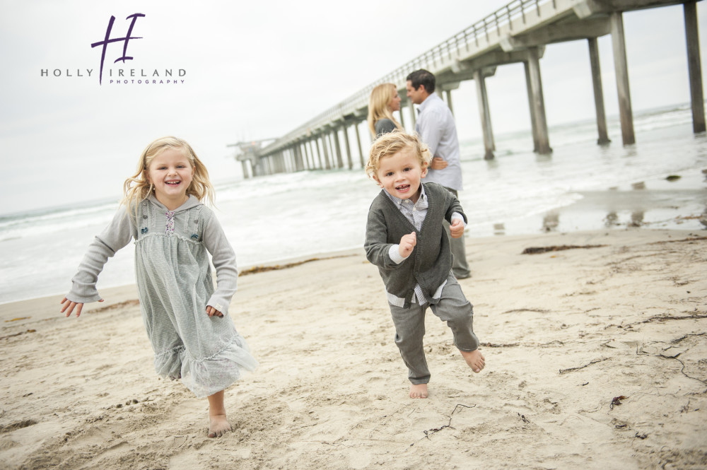 la jolla family photography at the scripps pier