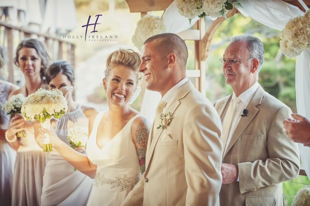 Karl Strauss Brewery Wedding Tatood Bride Cool Hair For A